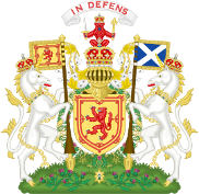 Mary Queen of Scots Tours Coat of Arms